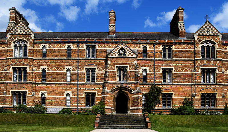 Download Keble College, Oxford stock image. Image of brick, steps - 10370049