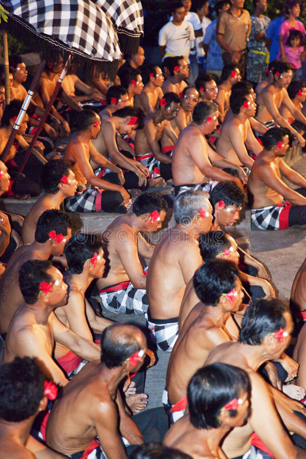 Download Kecak And Trance Dancers At Dusk, Bali, Indonesia Editorial Stock Photo - Image of culture, night: 14377078