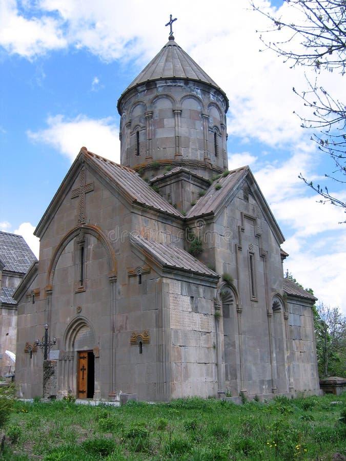 Kecharis church in Tsakhadzor , Armenia royalty free stock photos