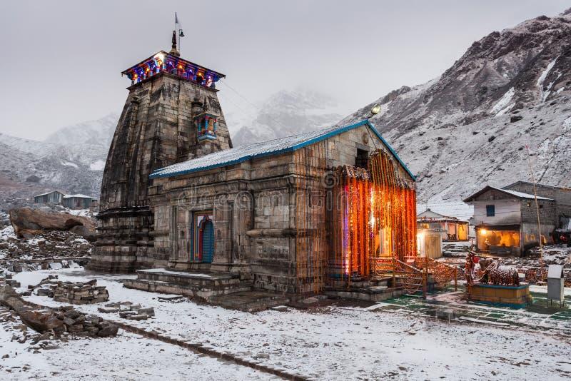 Kedarnath dans l'Inde photographie stock