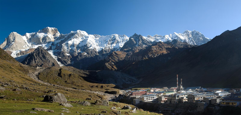 Kedarnath, Uttarakhand State, India royalty free stock photo
