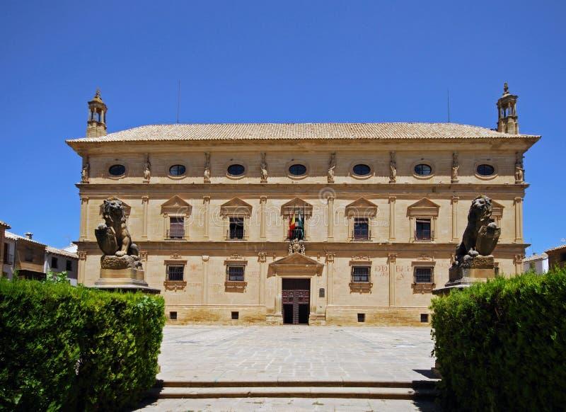 Kedjor slott, Ubeda, Spanien. arkivbilder