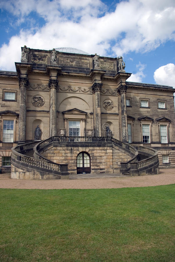 Kedleston Hall images libres de droits