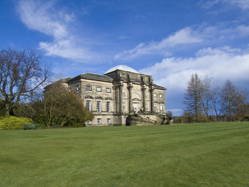 Kedleston Hall stockfoto