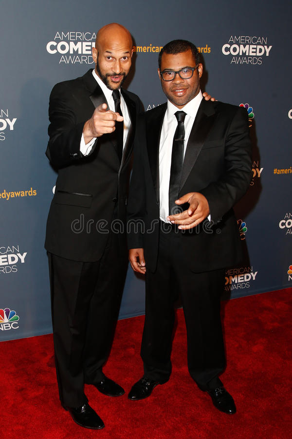 Keegan-Michael Key, Jordan Peele royalty-vrije stock foto's