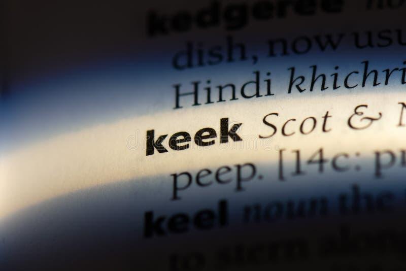 keek στοκ φωτογραφίες
