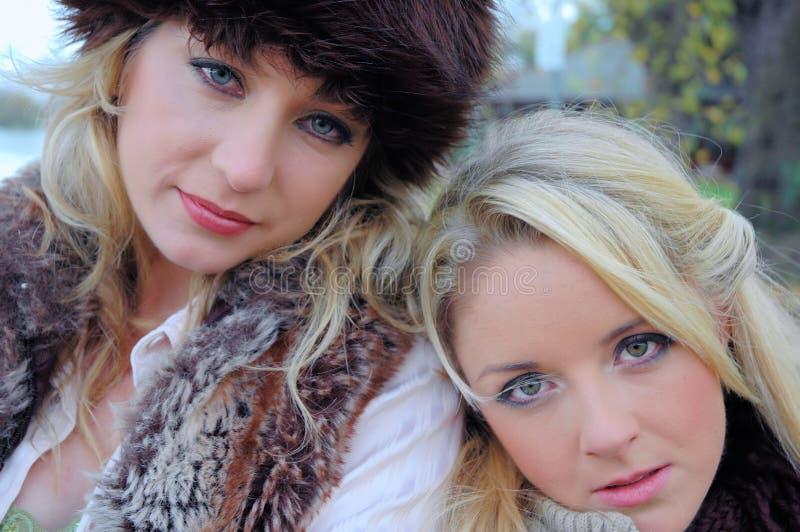 Keeley y Amelia13 fotografía de archivo libre de regalías