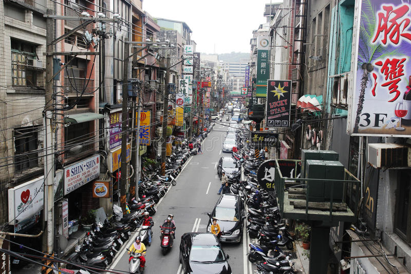 Keelung l'explorant, Taïwan images libres de droits