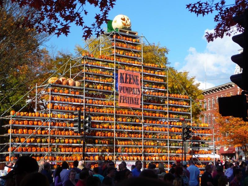 Keene Pumpkin Festival fotos de archivo