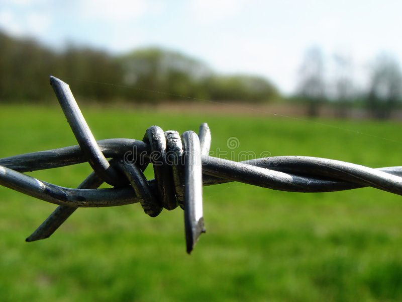 Download Keep away stock image. Image of wire, landscape, fence, restrict - 10767