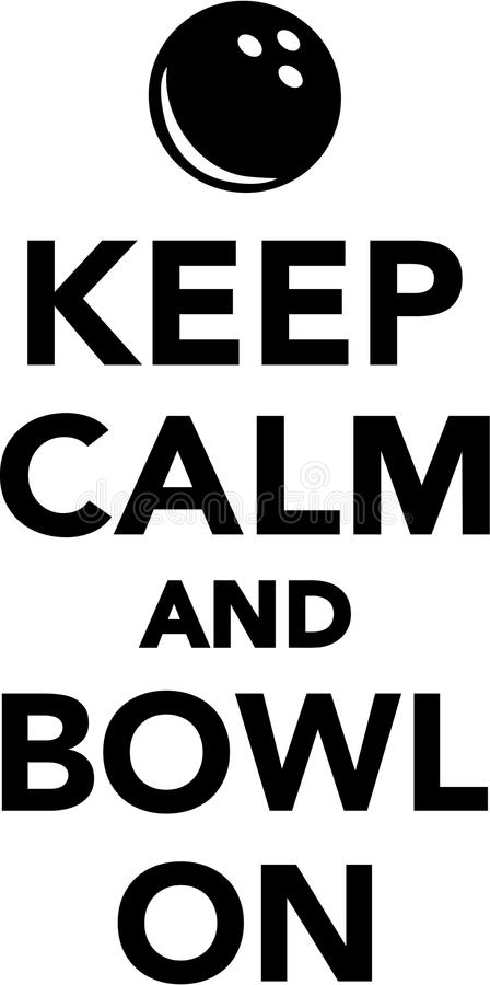 keep calm and bowl on stock vector illustration of bowl 85848215 rh dreamstime com  keep calm logo generator