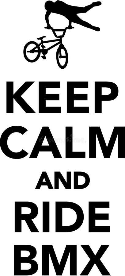 keep calm and ride bmx stock photo image of cycling 85846104 rh dreamstime com keep calm logo maker
