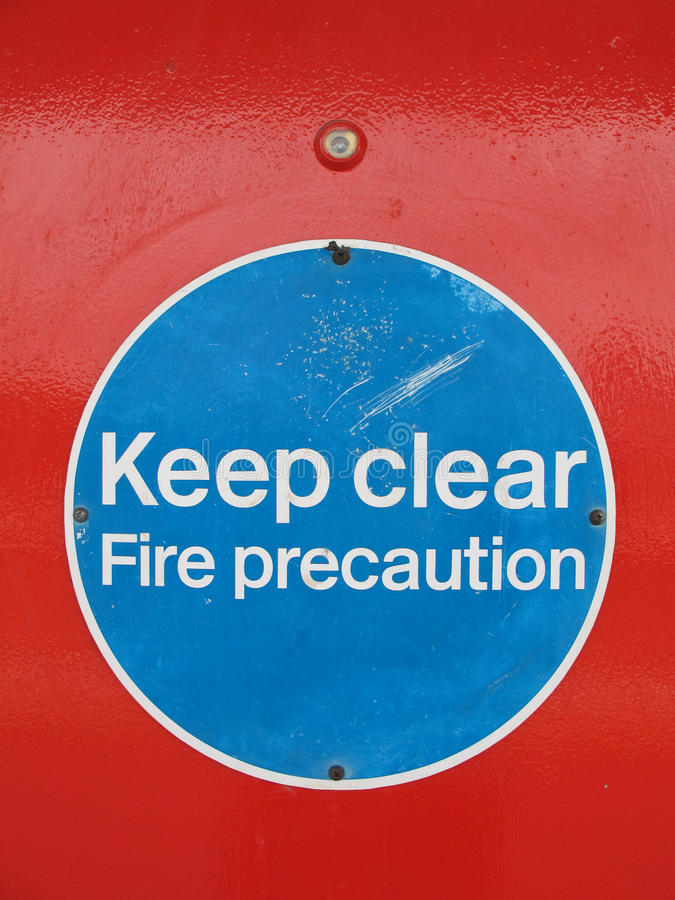 Download Keep clear stock photo. Image of worning, english, signal - 22264748