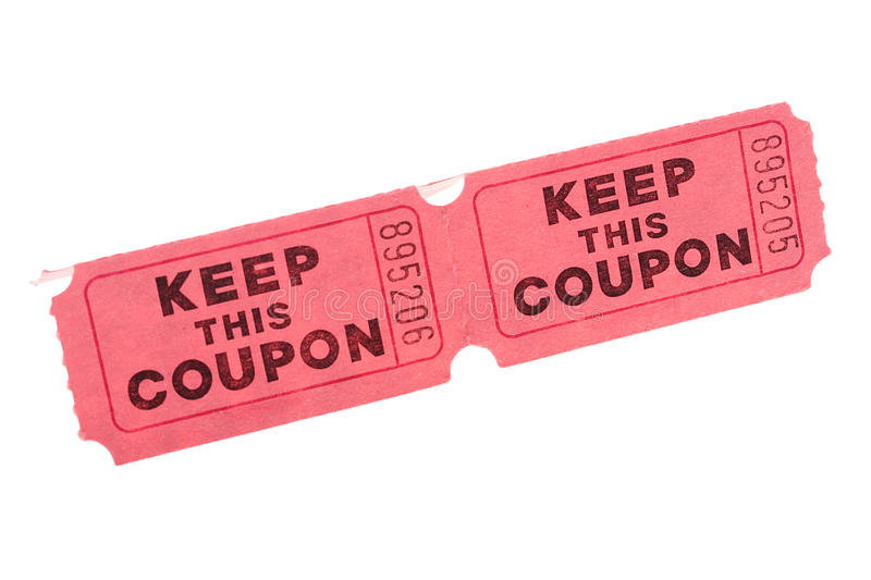 Download Keep this Coupon stock image. Image of coupon, admission - 15307497