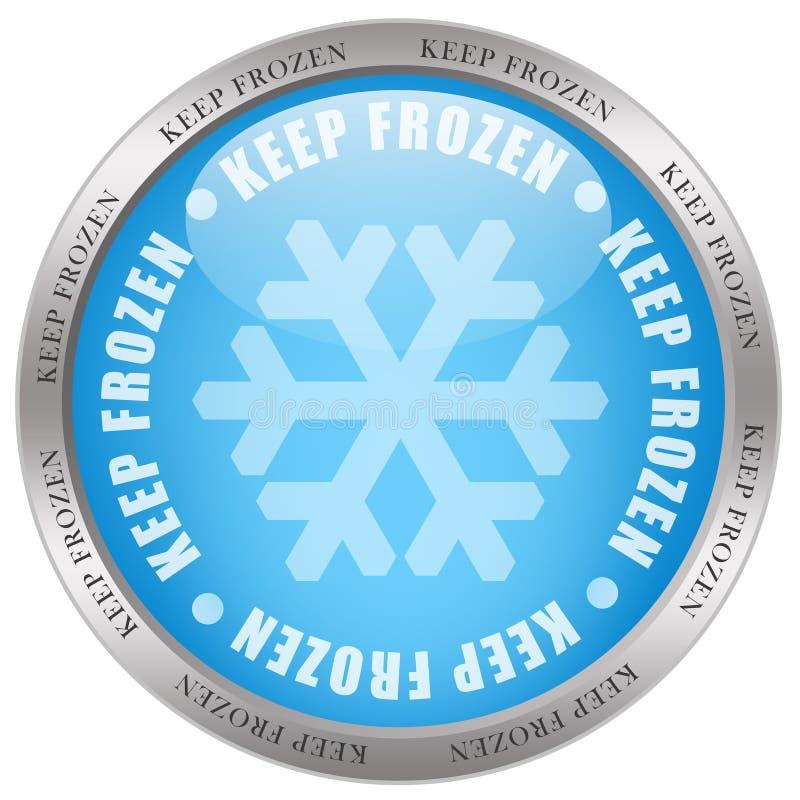 Download Keep frozen stock illustration. Illustration of imprint - 15721504