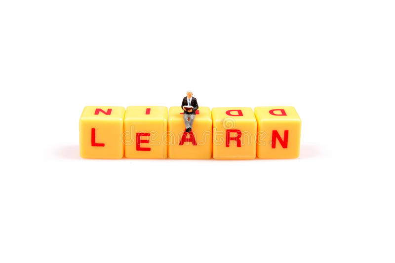 Download Always keep learning stock image. Image of white, isolated - 16096203