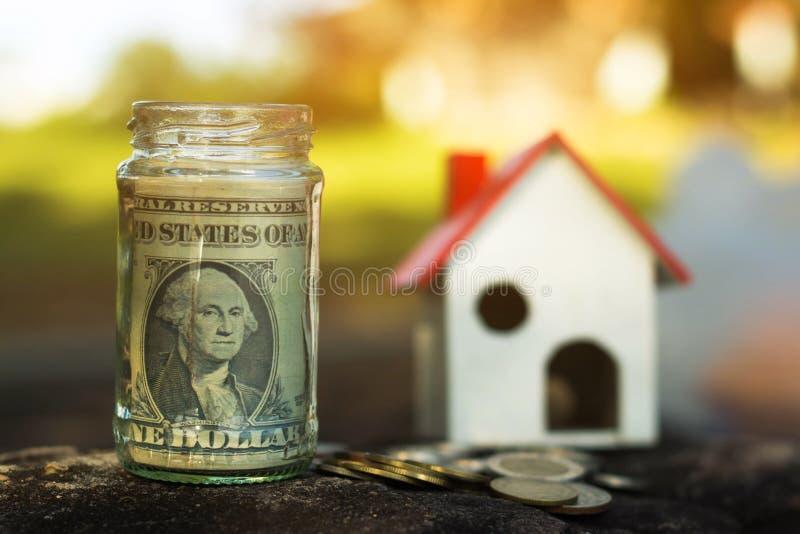 Keep the money for future use. Keep the money for future use, Concept save money for the future stock photos