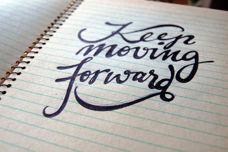 Download Keep Moving Forward Calligraphic Background Stock Photo - Image of calligraphic, lights: 83711892