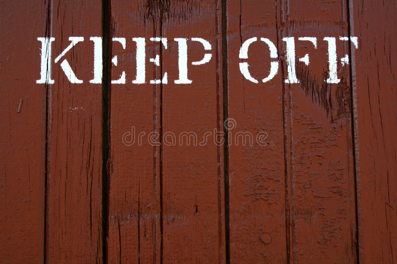 Download Keep Off stock image. Image of word, keep, background - 7306063