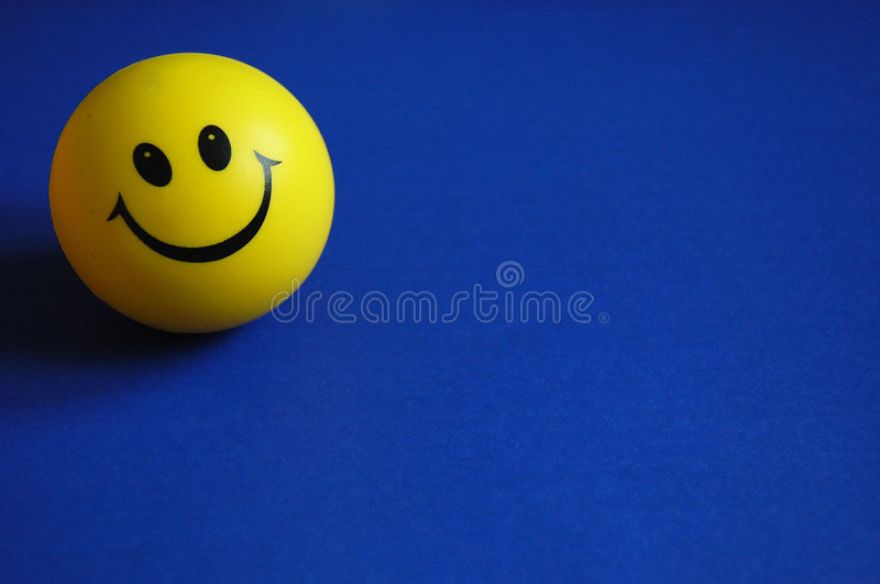 Keep smiling! royalty free stock photography