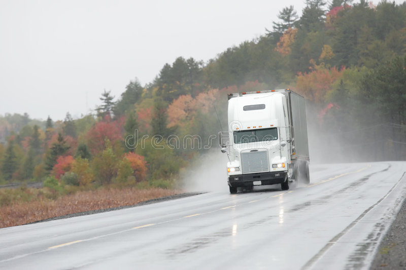 Keep on trucking royalty free stock photography