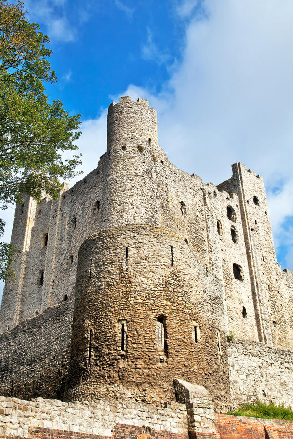 Download Keep and turret stock photo. Image of walls, ruins, battlements - 20980942