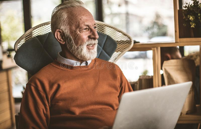 Keep your ideas in the computer. stock photo