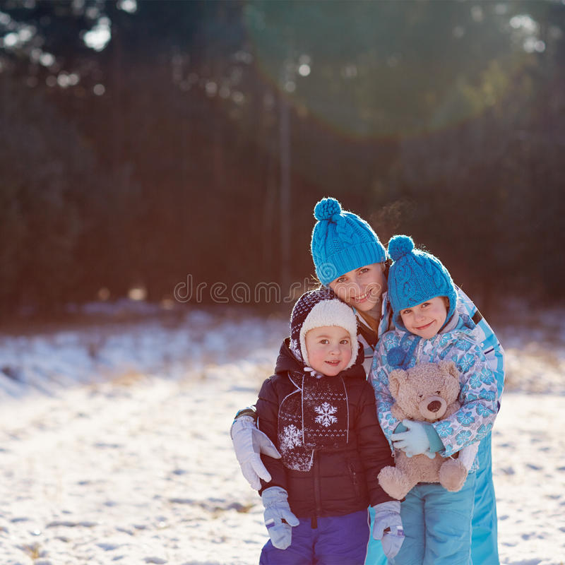 Keeping them safe and warm royalty free stock photo