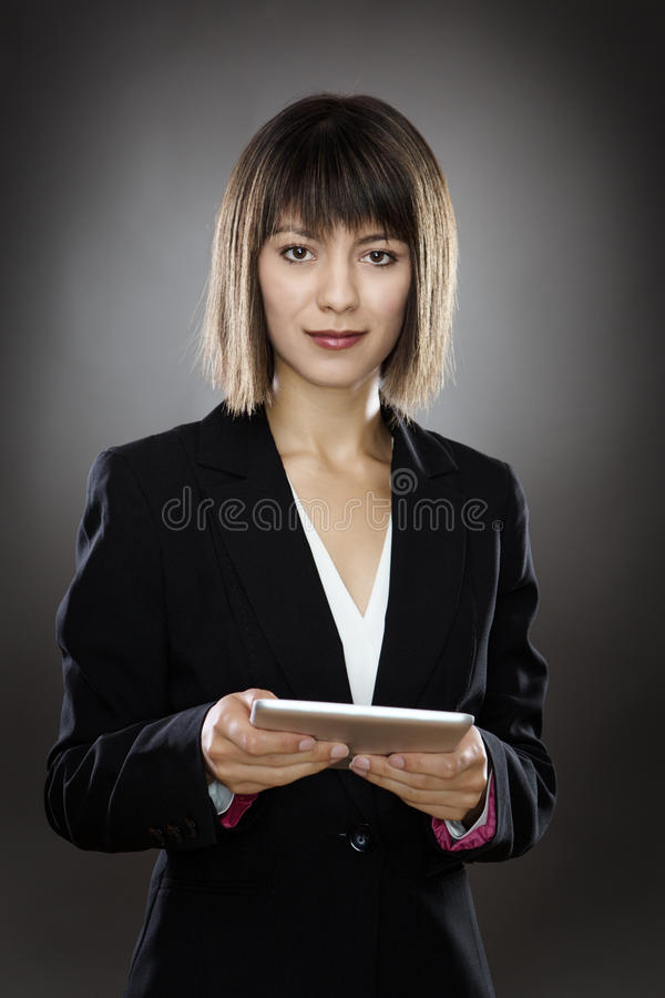 Keeping in touch stock image