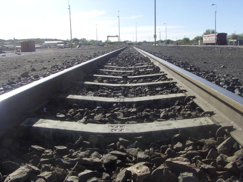 Keeping Us in Line: Train Tracks stock photos