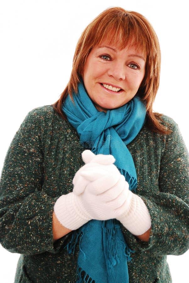 Download Keeping warm stock image. Image of posing, keeping, season - 12339443
