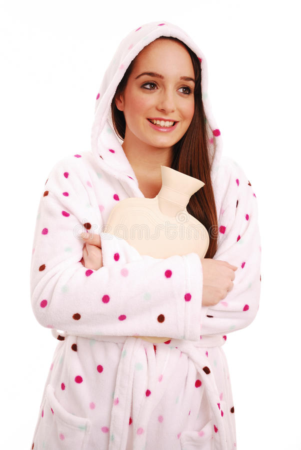 Download Keeping warm stock photo. Image of ache, stomach, lady - 15346082