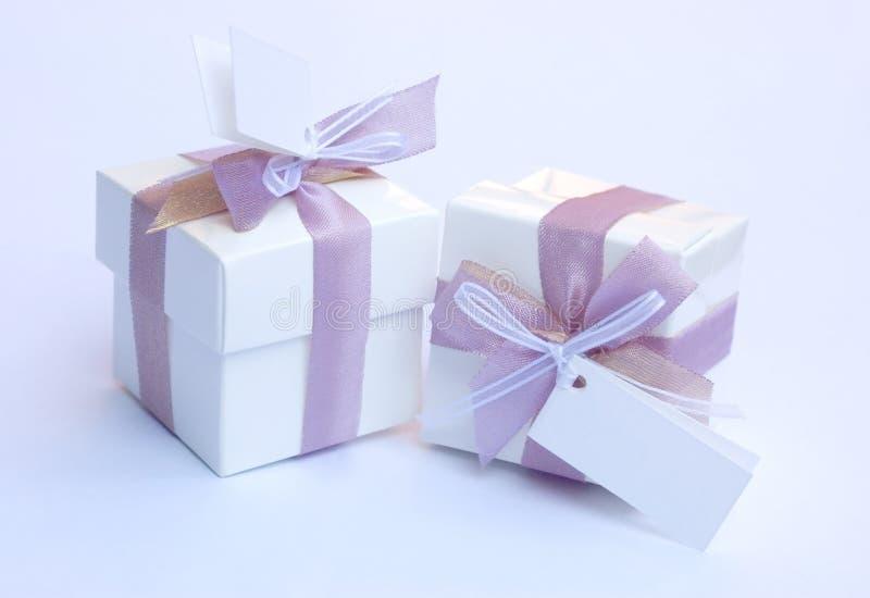 Keepsake di cerimonia nuziale - regalo fotografia stock