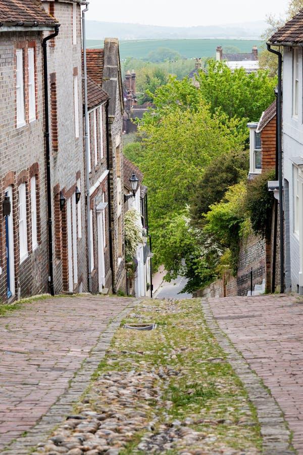 Keere-Straße, Lewes lizenzfreies stockbild
