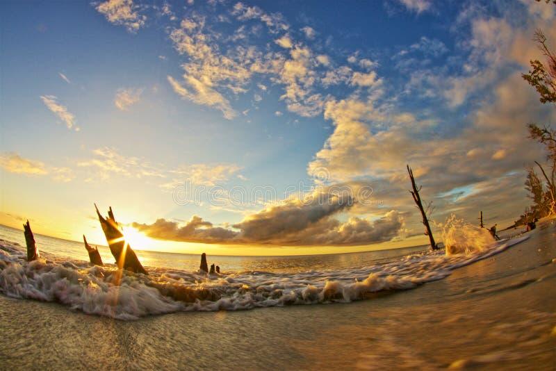 Keewayden sunset stock images