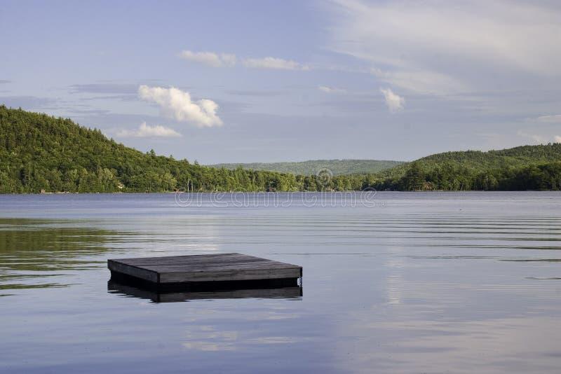 keewaydin jeziora fotografia stock