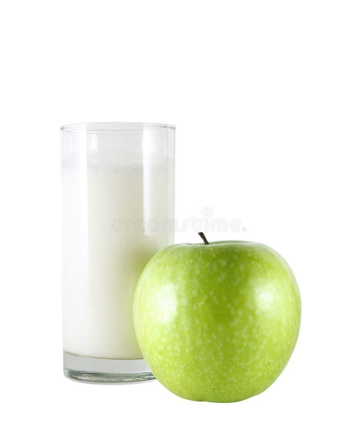kefir μήλων στοκ φωτογραφία