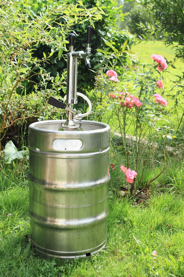 Keg of beer royalty free stock images