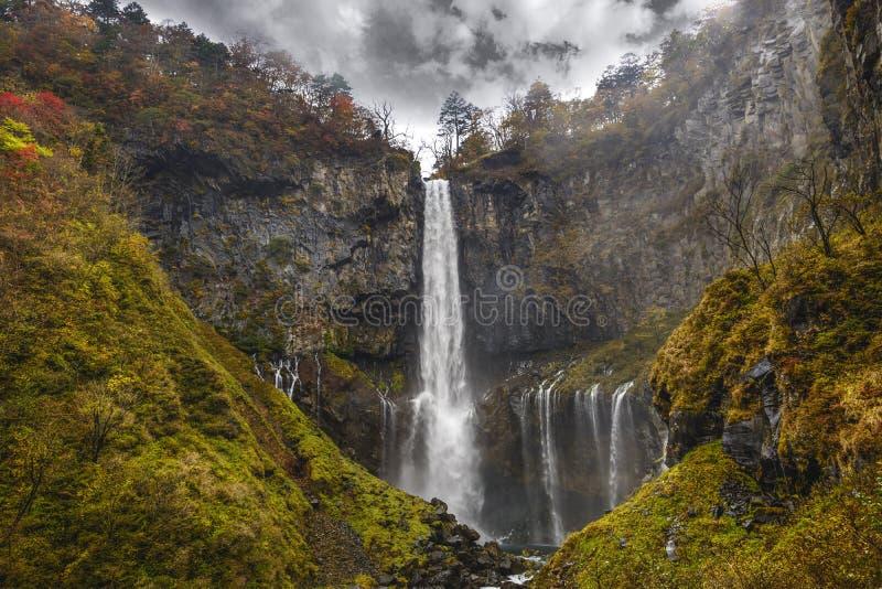 Kegon vattenfall i Nikko, Japan arkivfoto