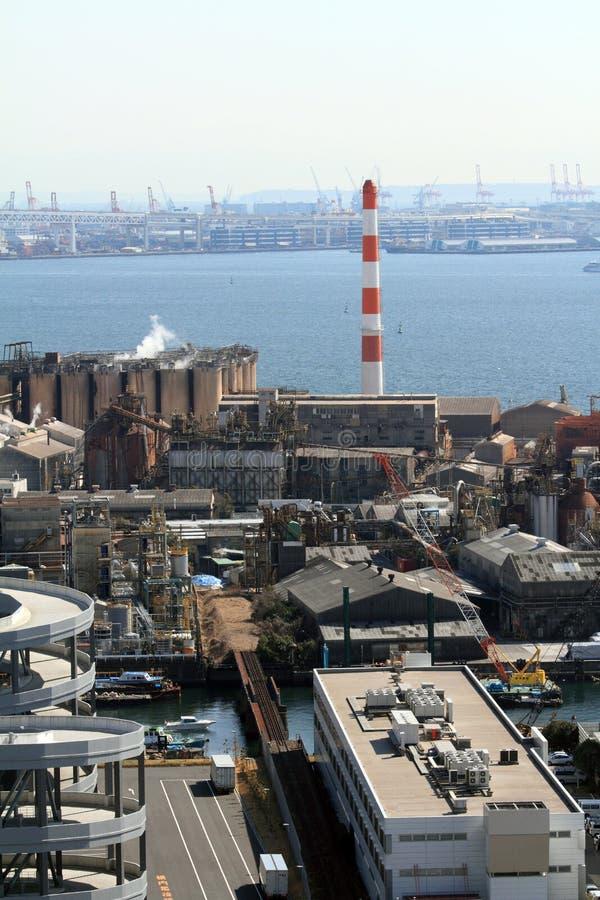 Keihin industriområde arkivbilder