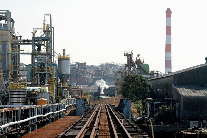 Keihin industriområde arkivfoton