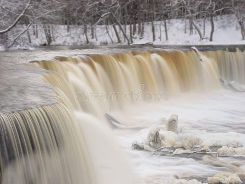 Keila-Joa Wasserfall stockfotos