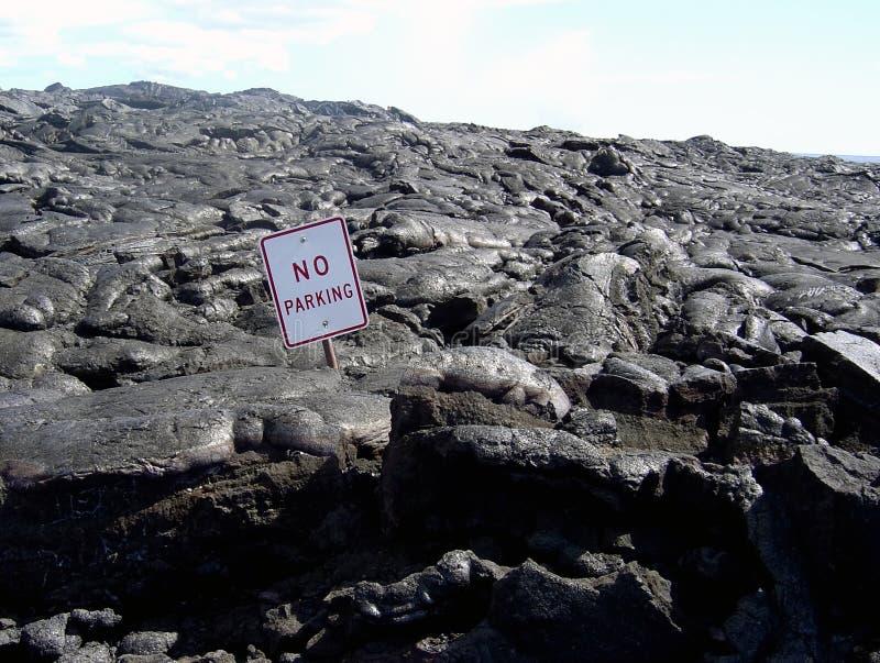 Kein Parken! stockfoto