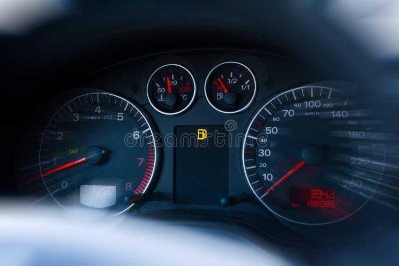 Kein Treibstoff/Gas lizenzfreies stockfoto