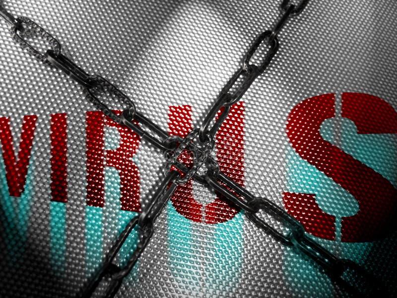Kein Virus lizenzfreie stockfotos