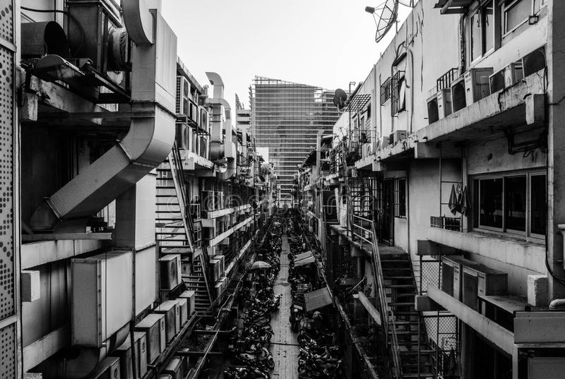 Keine Bangkok-Gebäude 4 stockbilder