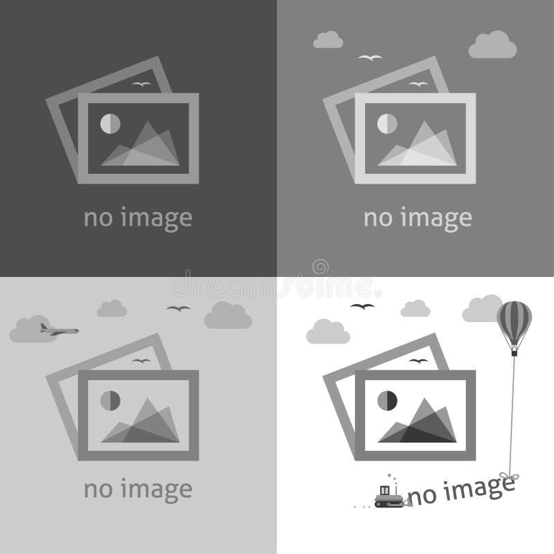 Keine Bildzeichen für Webseite lizenzfreie stockfotos