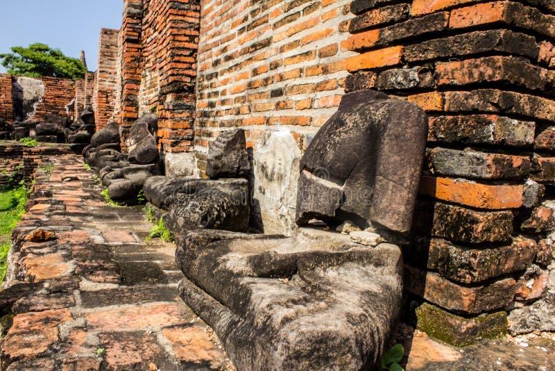 Keine Hauptbuddha-Statue stockfoto
