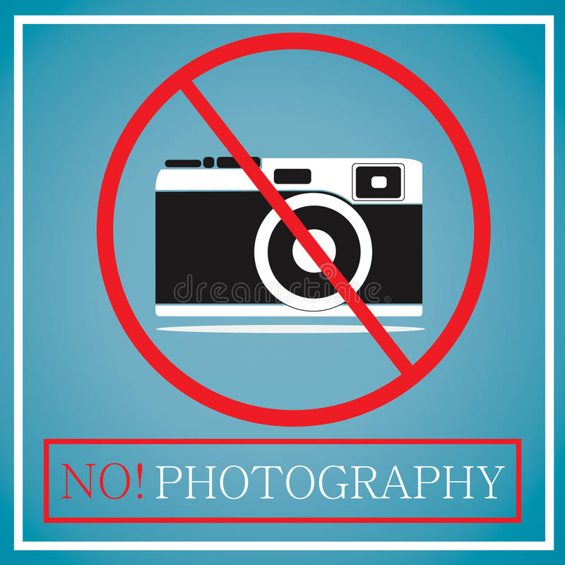 Keine Kamera stockfoto