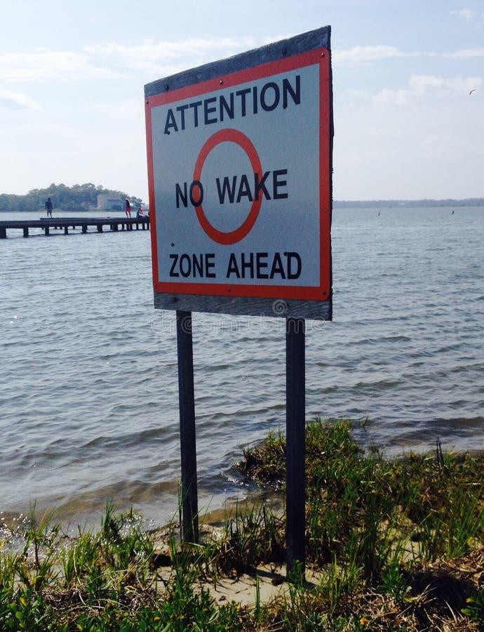 Keine Spur-Zone stockbilder